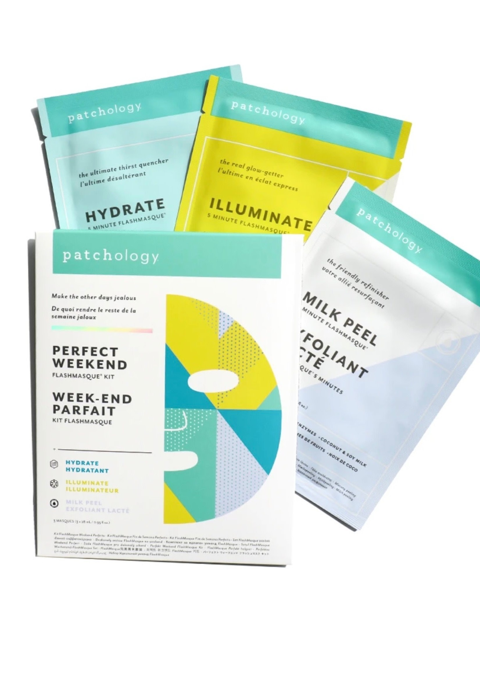 """Patchology Flashmasque Trio """"Perfect Weekend"""" by Patchology"""