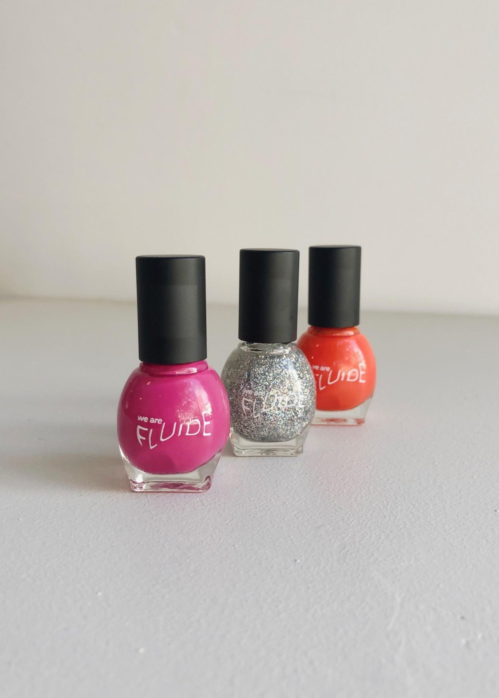 Fluide Beauty Trio de vernis à ongles Sans-7 par Fluide