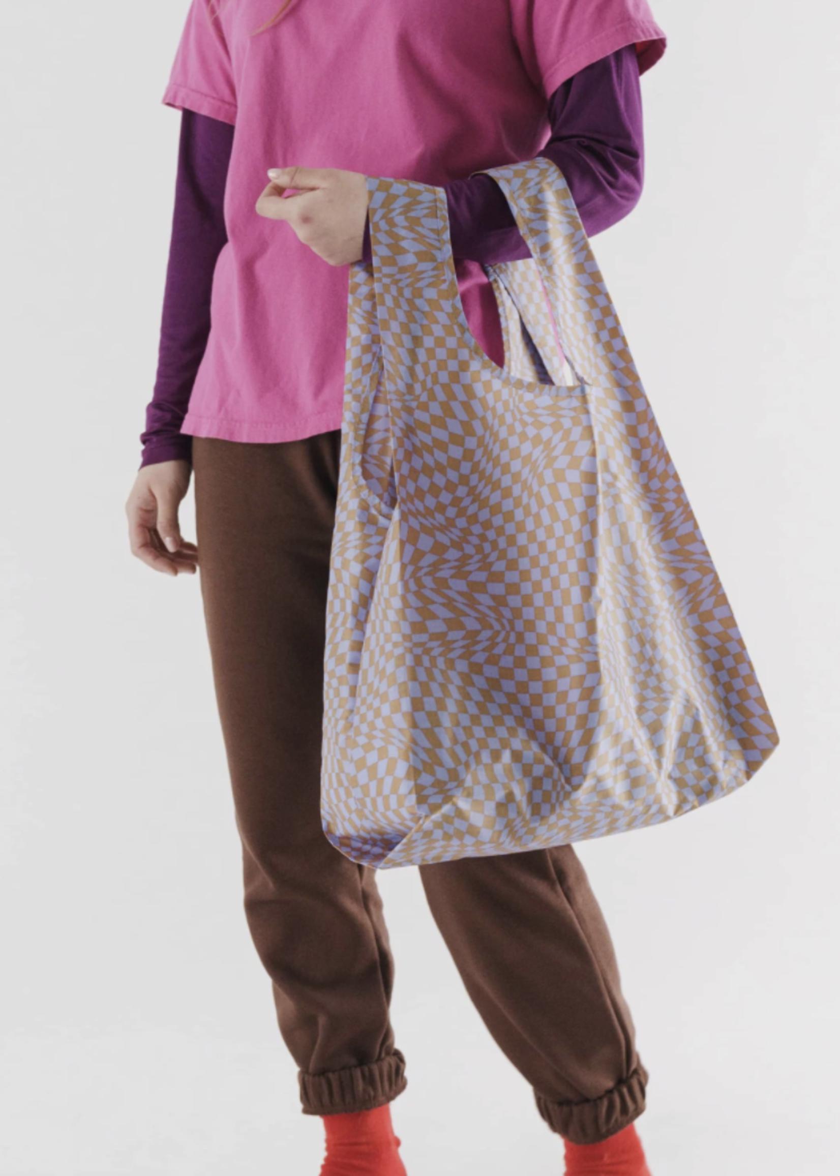 Baggu Trippy Checkers Standard Reusable Bag by Baggu