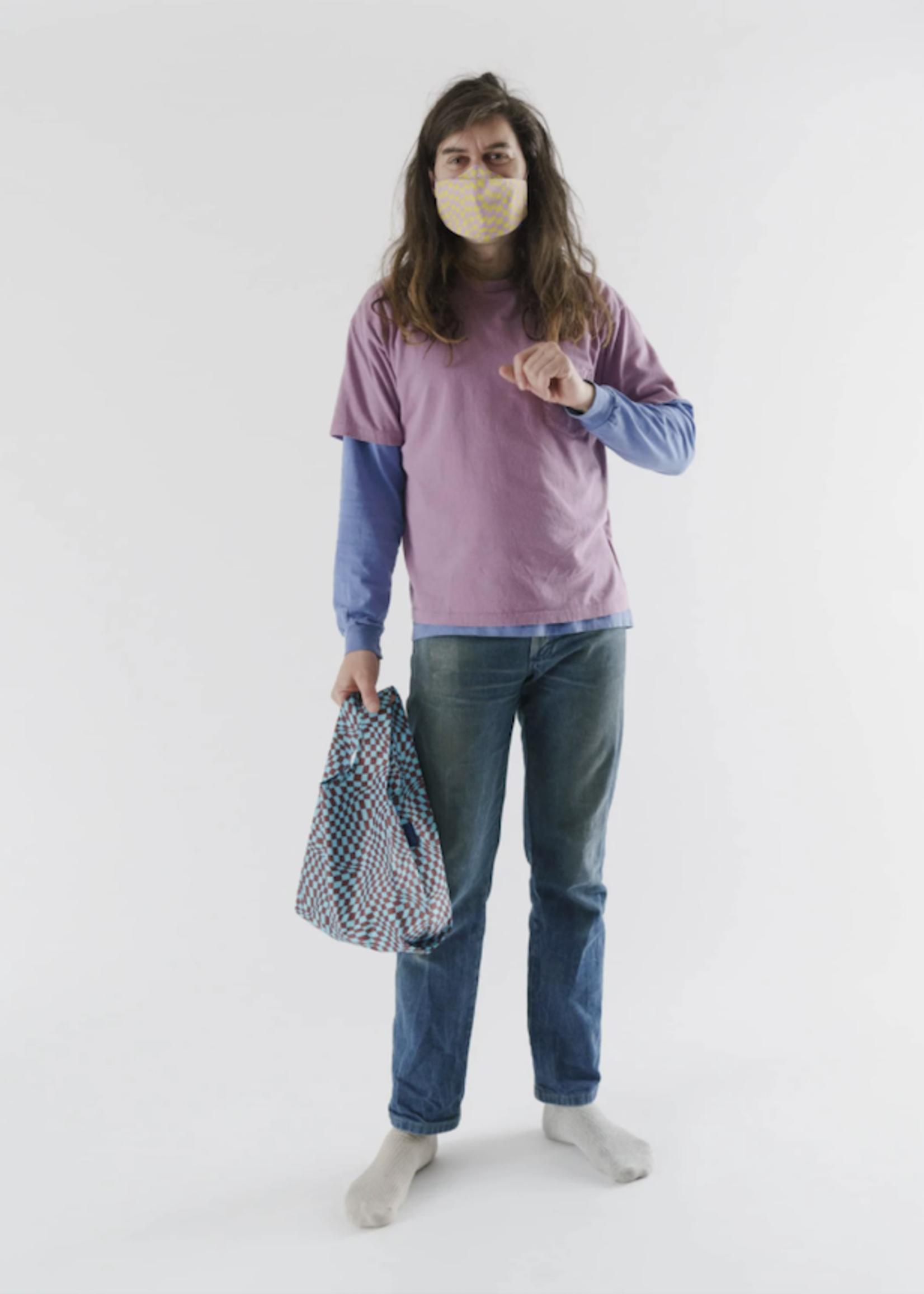 Baggu Trippy Checkers Mini Reusable Bag by Baggu