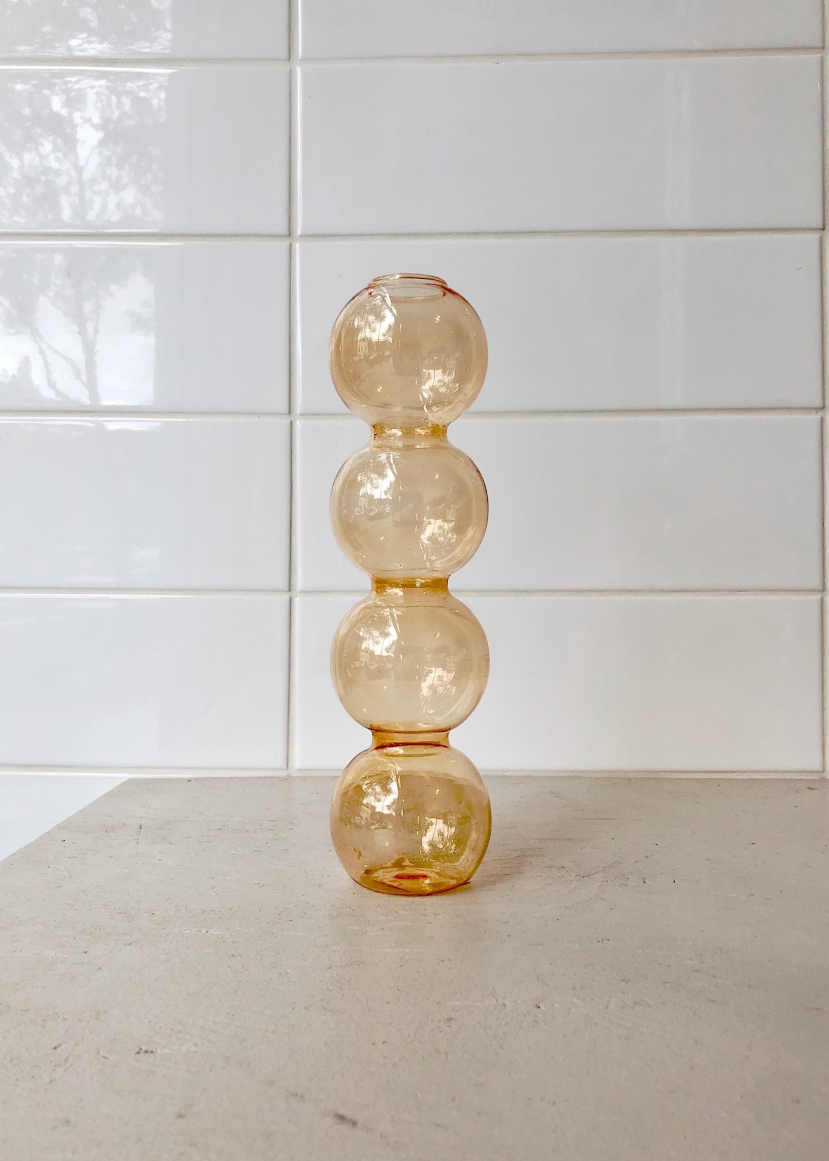 """Annex Vintage Vase en verre """"Bubbles"""" par Annex Vintage"""