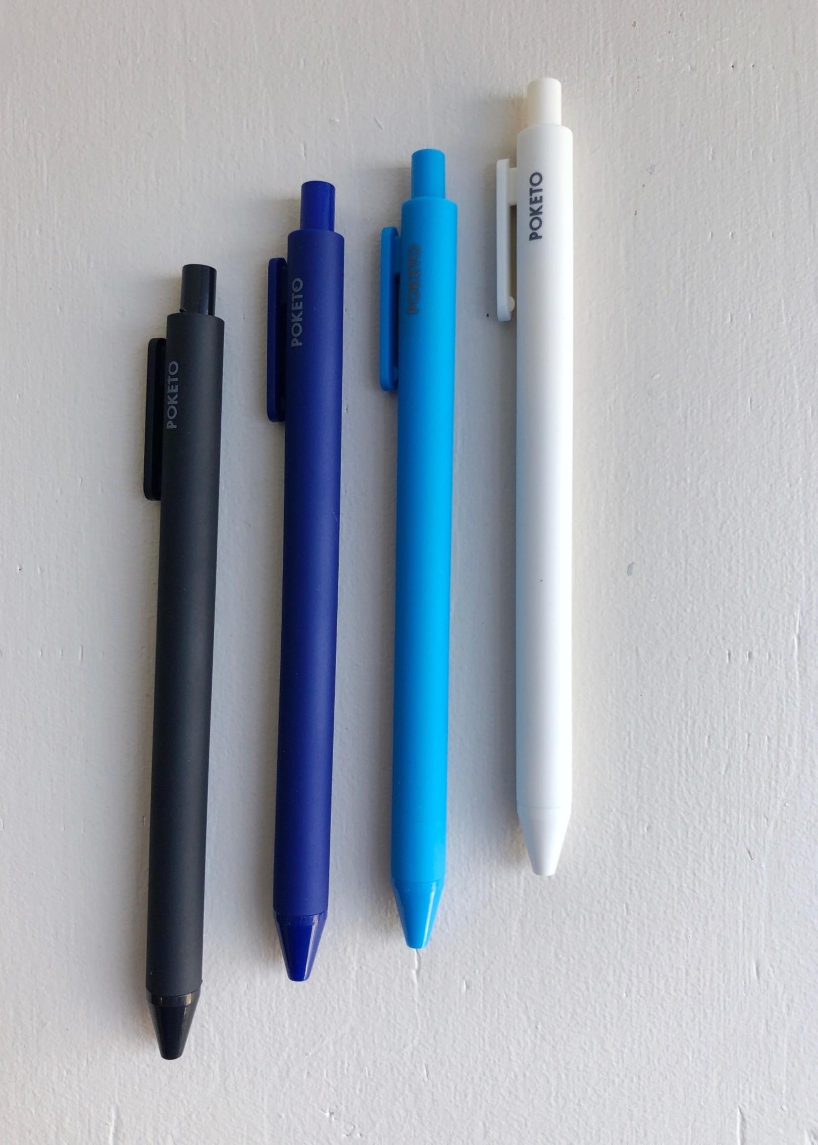 Poketo Vivid Gel Pens 4-Pack by Poketo