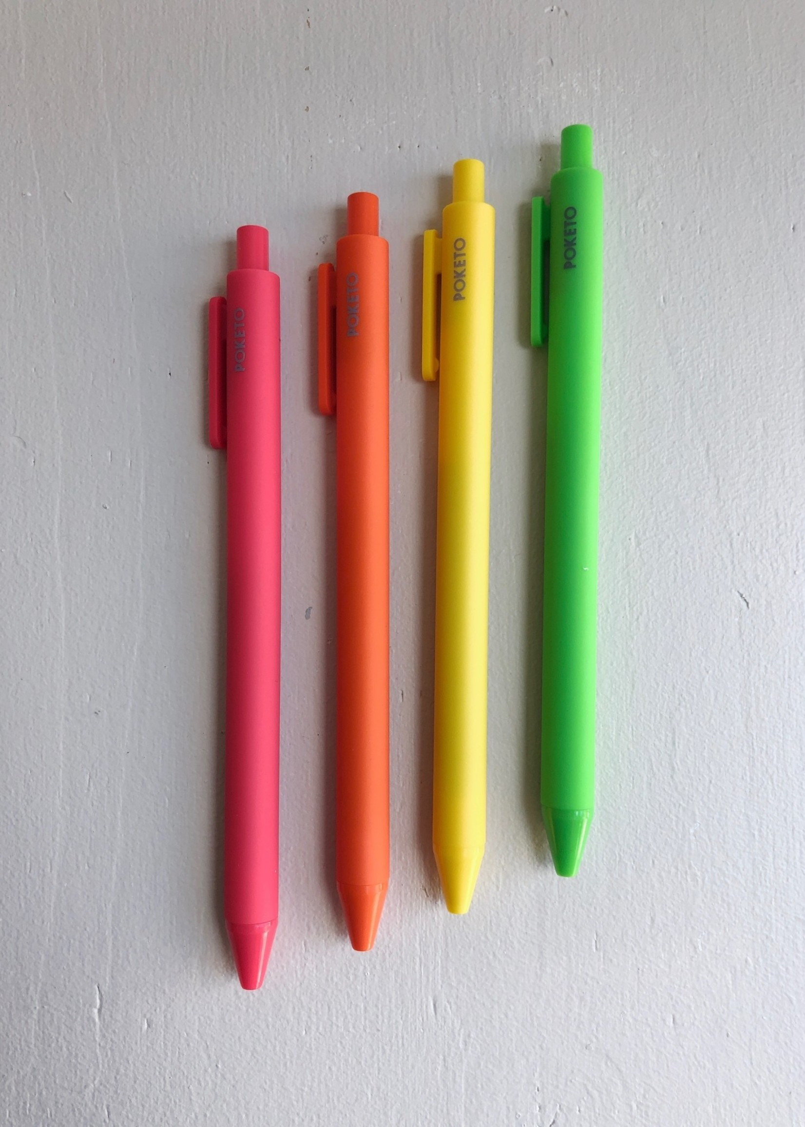 """Poketo Paquet de 4 stylos """"Vivid Gel"""" par Poketo"""