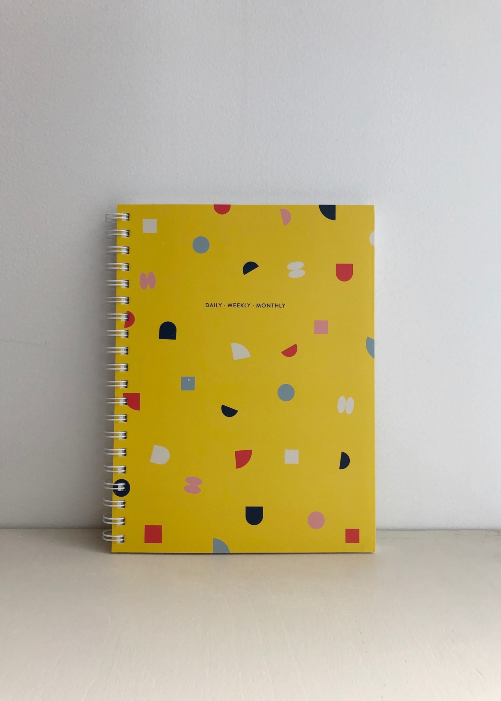 Poketo Daily Weekly Monthly Large Planner in Bits by Poketo