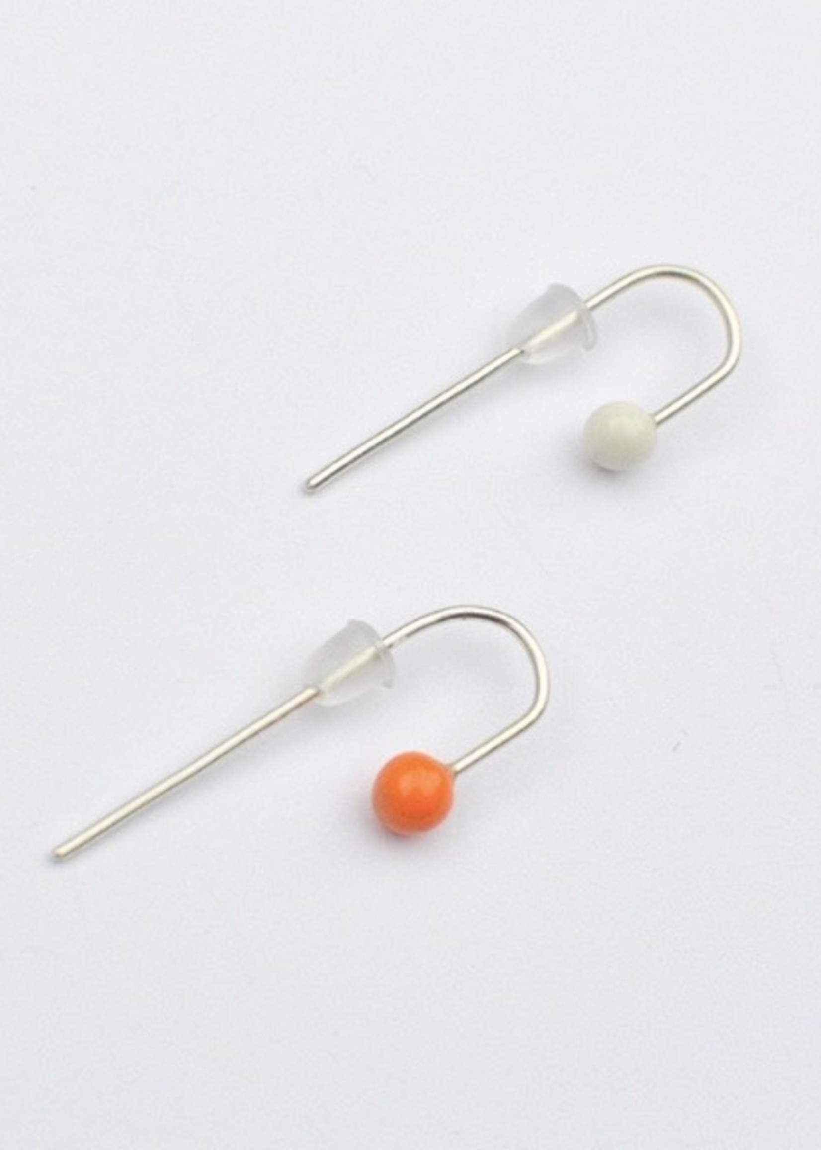 Monochromatiques Twisted Pins Earrings by Monochromatiques
