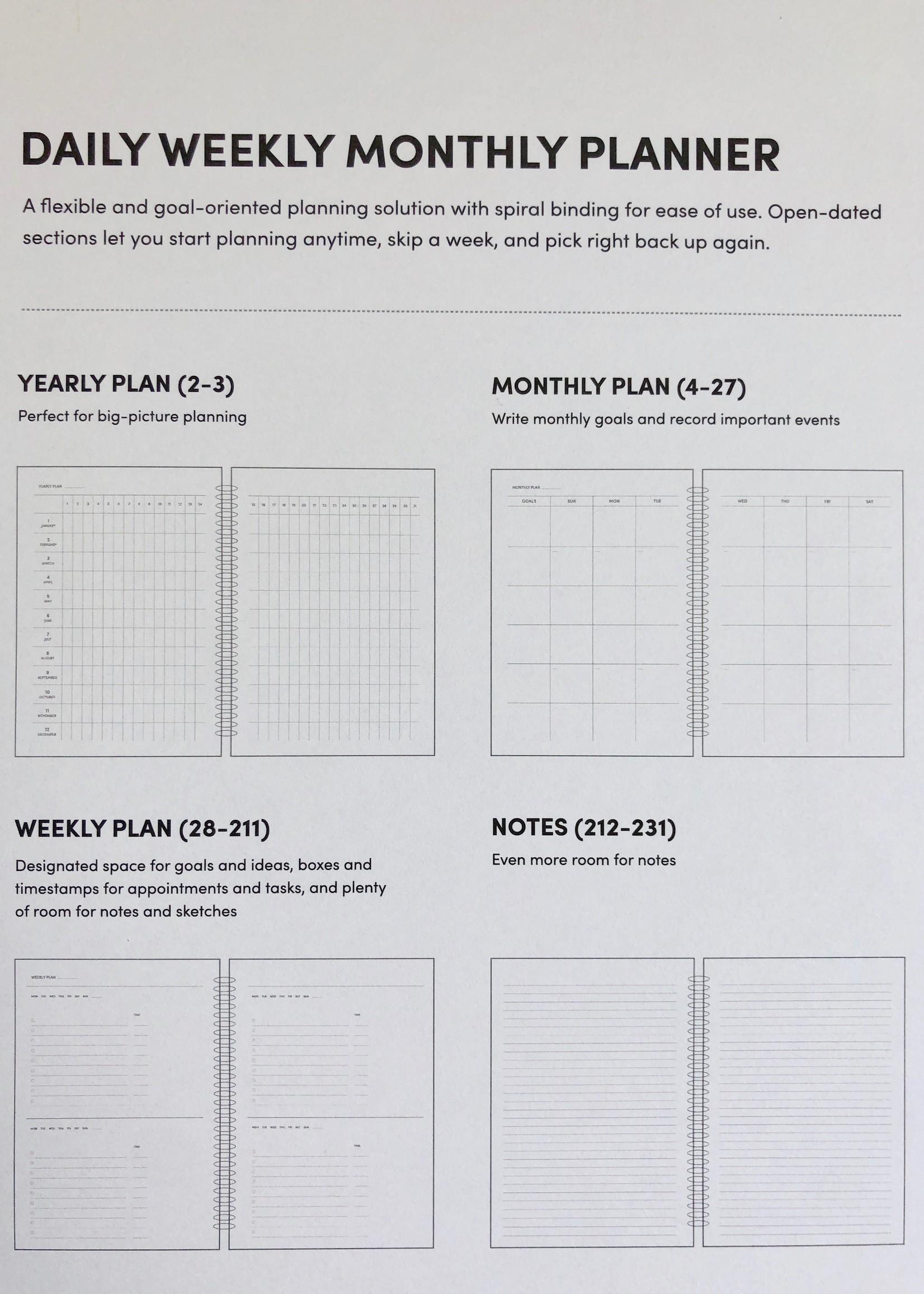 """Poketo Grand agenda Bits """"Daily Weekly Monthly"""" par Poketo"""