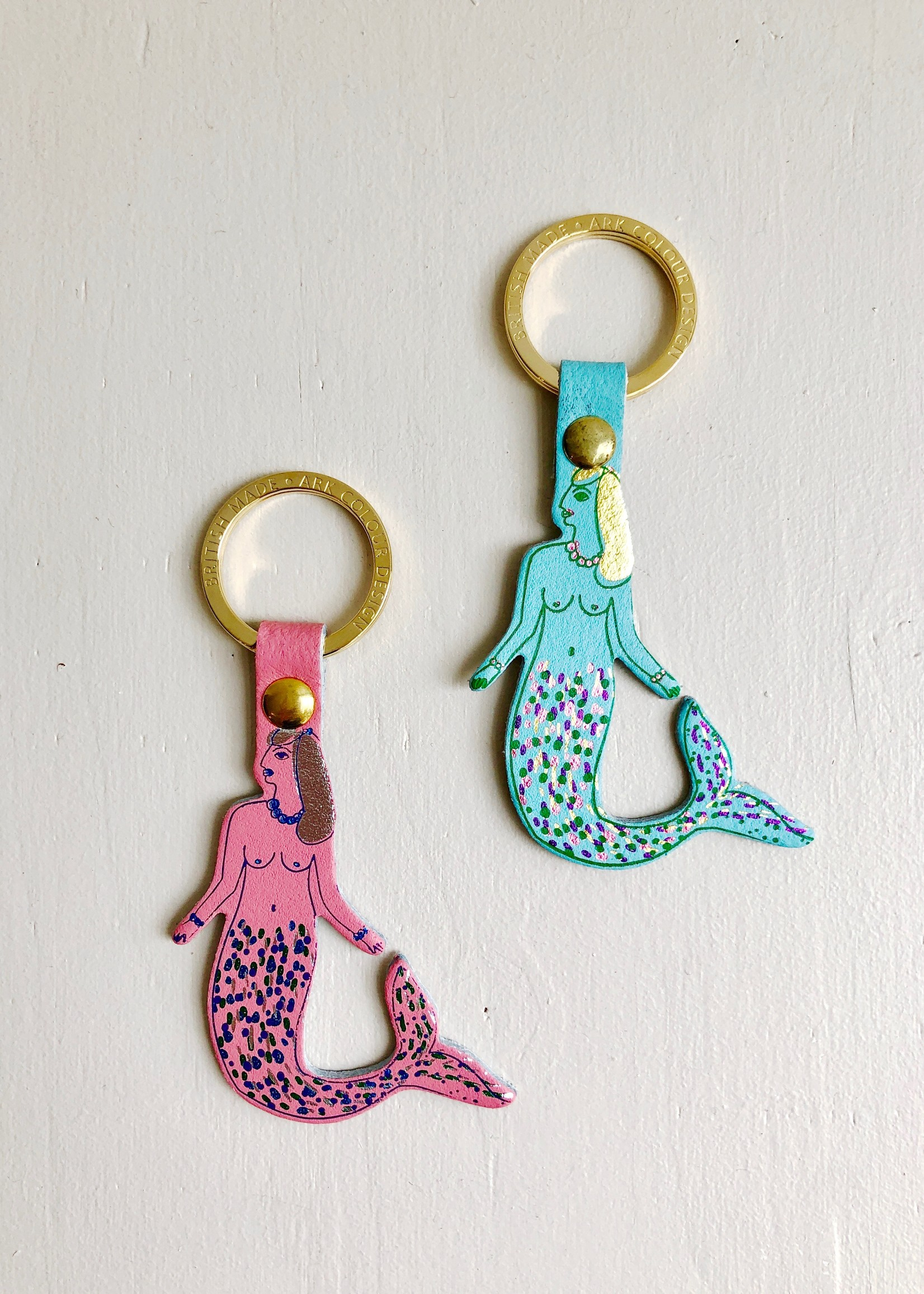 Ark Colour Design Mermaid Keychains by Ark Colour Design