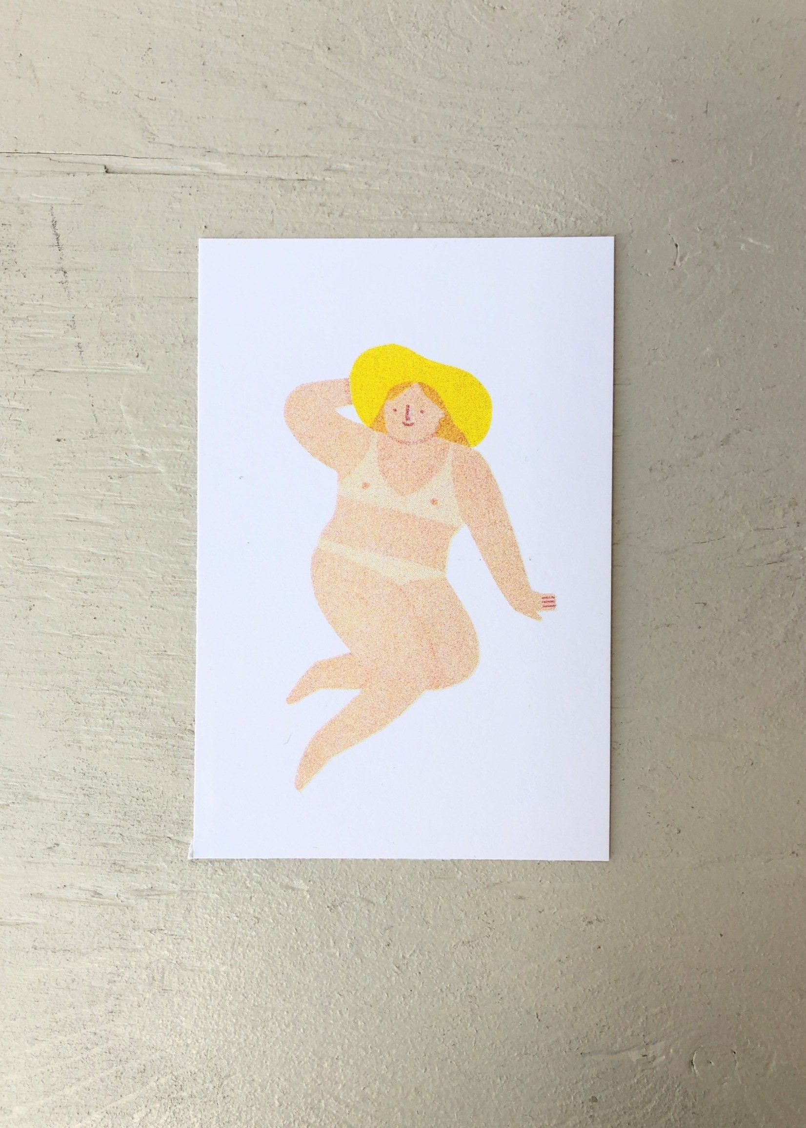 """Stay Home Club Sunbathers Risopgraph Prints by Stay Home Club, 4"""" x 6"""""""