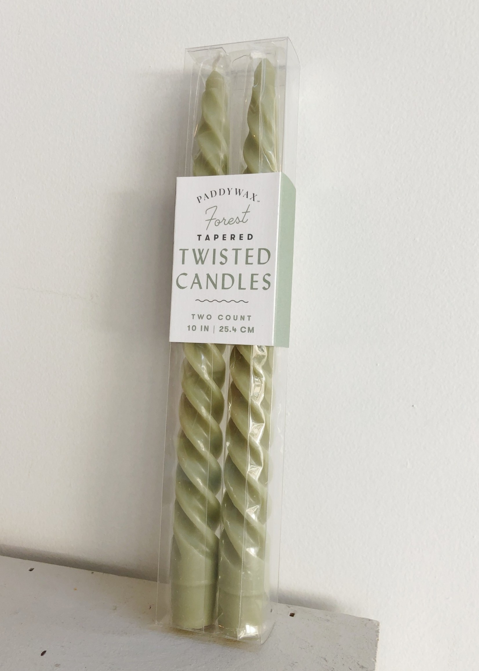 Paddywax Fall Twisted Candles Pair by Paddywax