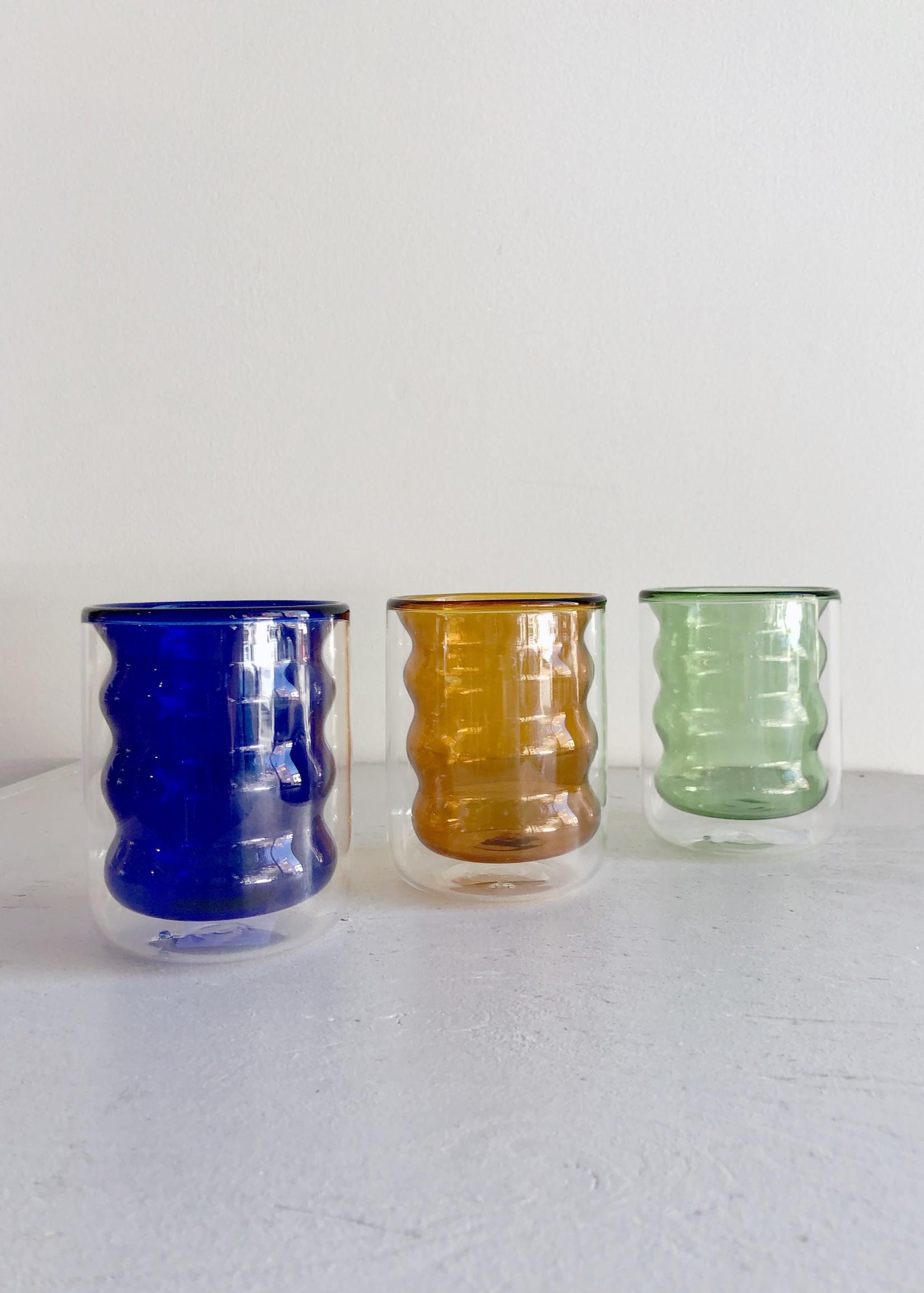 Poketo Double Wall Groovy Cup by Poketo