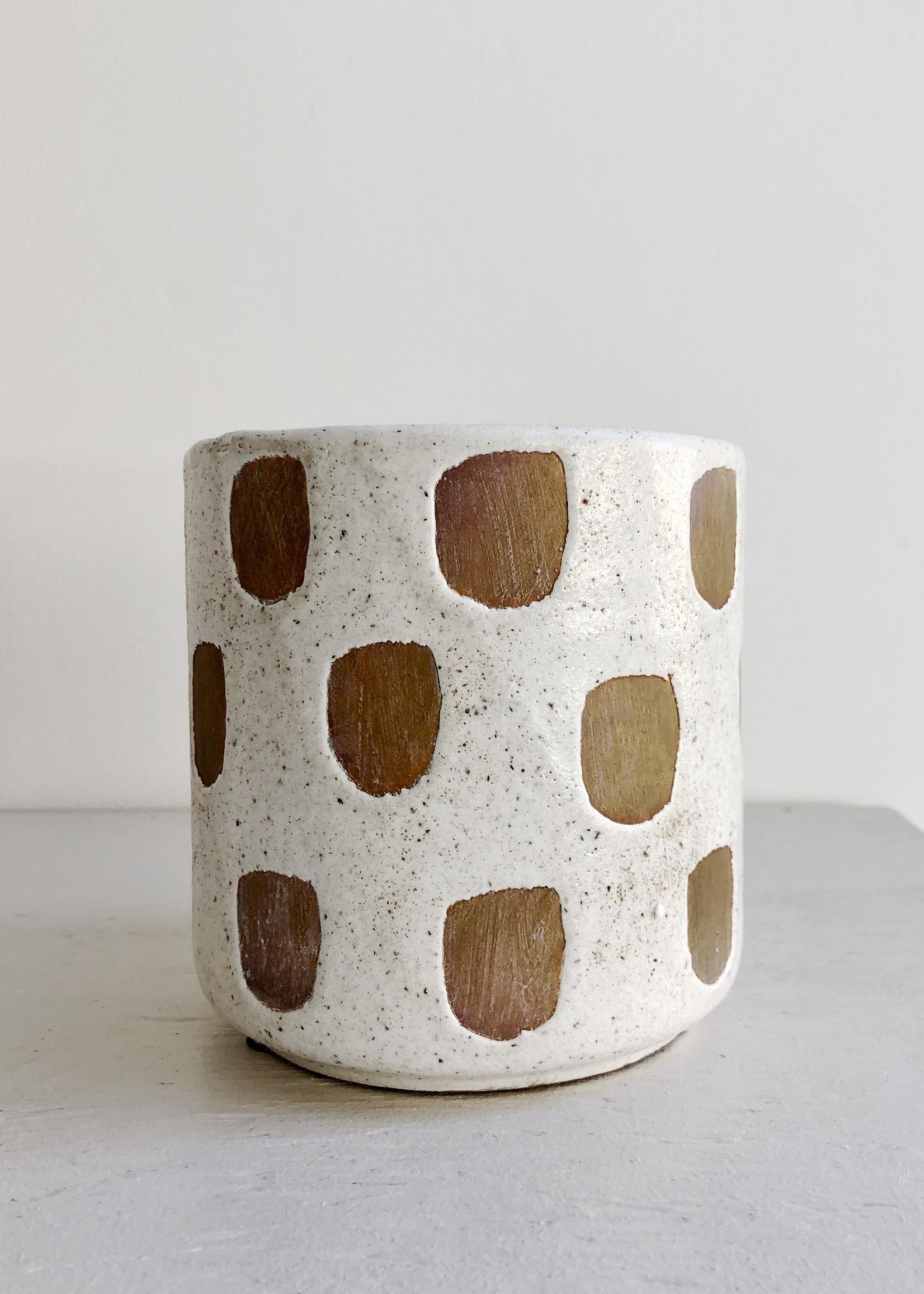 Bloomingville Pots en terracotta à motifs par Bloomingville