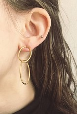 """Lover's Tempo Boucles d'Oreilles """"Infinity Hoop"""""""
