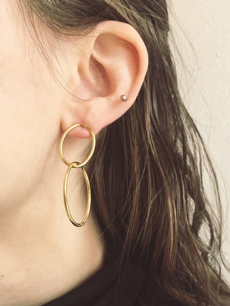 Lover's Tempo Infinity Hoop Earrings