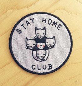 "Stay Home Club Appliqué ""Stay Home Club"""