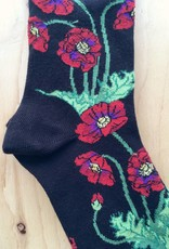 "Ozone Socks Bas ""Poppies"""