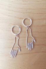 "Bilak Jewellery Boucles d'oreilles ""Hands"""