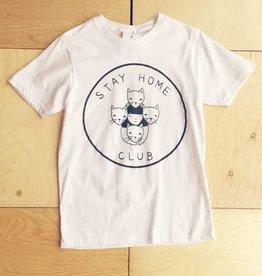 """Stay Home Club T-shirt """"Stay Home Club"""""""