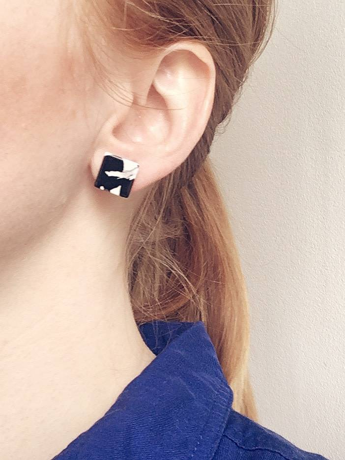 Machete Boucles d'oreilles bloc