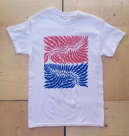 "Annex Collaborations T-shirt ""Leaves"""