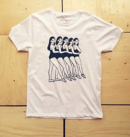 Good Day Club T-shirt 'Chorus Line' de Andrea Manica