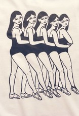 Good Day Club Chorus Line by Andrea Manica T-shirt