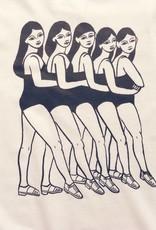 Good Day Club T-shirt 'Chorus Line' de Andrea Manica