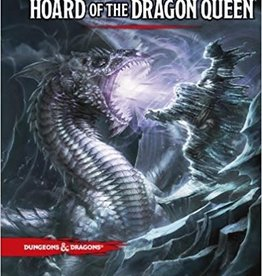 Wizards of the Coast D&D: Hoard of the Dragon Queen Book