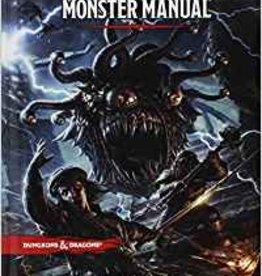 Wizards of the Coast D&D: Monster Manual Book