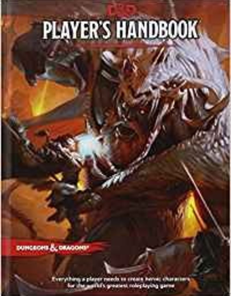 Wizards of the Coast D&D: Player's Hand book