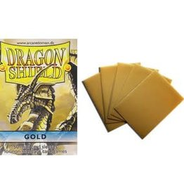 Dragon Shield Dragon Shield: Sleeves: Gold