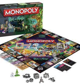 USAOPOLY Rick and Morty: Monopoly