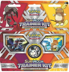 Pokemon Pokemon: SM: Trainer Kit: Lycanroc & Alolan Raichu