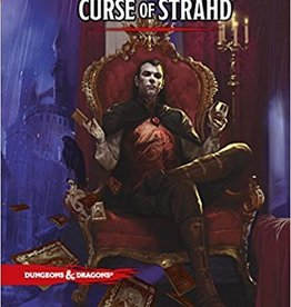 Wizards of the Coast D&D: Curse of Strahd Book