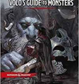 Wizards of the Coast D&D: Volo's Guide to Monsters Book