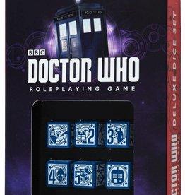 Q-Workshop Dr. Who: RPG Dice Set