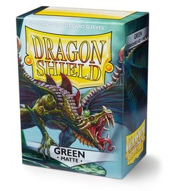 Dragon Shield Dragon Shield: Sleeves: Matt: Green