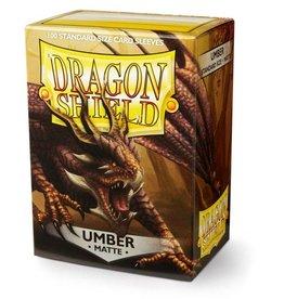 Dragon Shield Dragon Shield: Sleeves: Matt: Umber
