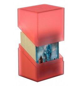 Ultimate Guard Ultimate Guard: Boulder Standard 80+ D-Box: Red