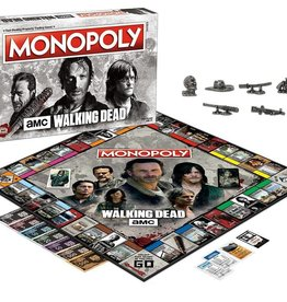 USAOPOLY The Walking Dead: Monopoly