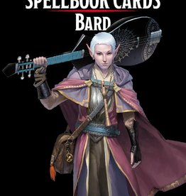 Gale Force Nine DND SPELLBOOK CARDS: BARD 2ND EDITION