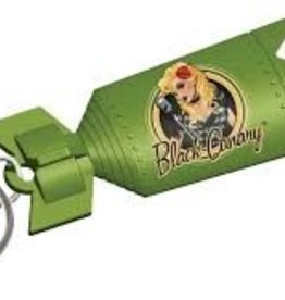 DC Bombshell Keychain:  Black Canary