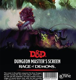 Wizards of the Coast D&D: DM Screen - Rage of Demons