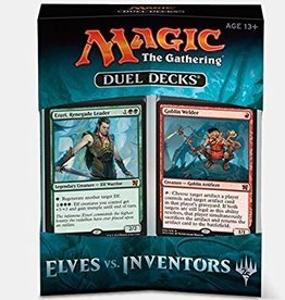 Wizards of the Coast MTG: Duel Decks - Elves VS. Inventors
