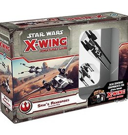 Fantasy Flight Games STAR WARS: X-WING -SAW'S RENEGADES (WITH 2.0 COMPONENTS)