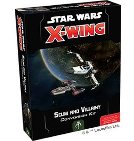 Fantasy Flight Games STAR WARS: X-WING 2.0 - SCUM AND VILLAINY CONVERSION KIT