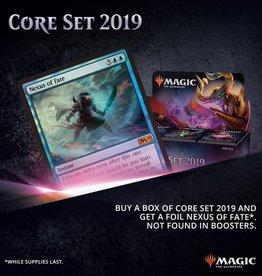 Wizards of the Coast Pre-Order MTG: 2019 Core Booster Box Buy-a-Box-Promo
