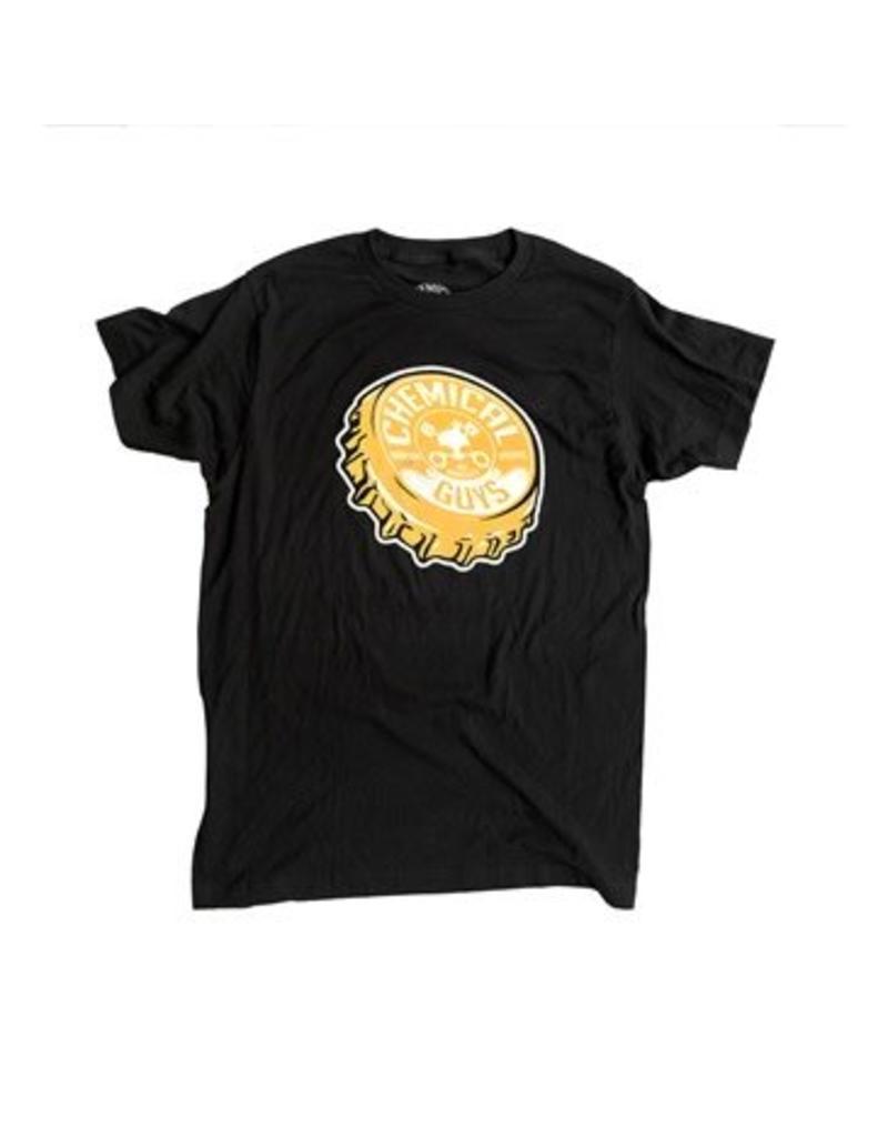 Pop the Top Bottle Cap T-Shirt (Large)