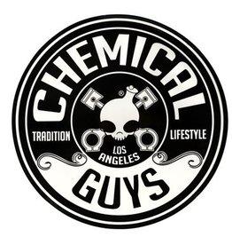 Chemical Guys Logo Sticker, 8 inch