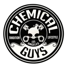 Chemical Guys Logo Sticker, 5 inch