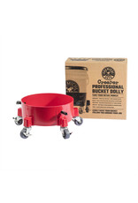 Chemical Guys The Creeper Professional Bucket Dolly (Red)